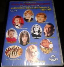 JOHNNY HALLYDAY EDDY MITCHELL SYLVIE VARTAN...RARE DVD 25 TITRES