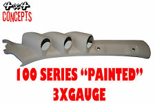 """to suit Toyota Landcruiser 100 series LHD TRIPLE PILLAR POD """"NEW""""  PAINTED BEIGE"""