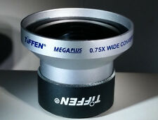 Tiffen MegaPlus Digital Camera/Video Wide Angle Lens 0.75x (43MEGAWIDE)