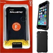 "Ballistic Tough Jacket SG Apple iPhone 6S Plus (5.5"") Rugged Case Cover Black"