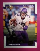 2017 Donruss Adam Thielen Minnesta Vikings card #111 MINT