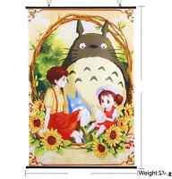Anime My Neighbor Totoro Home Decor Anime Japanese Poster Wall Scroll Art New