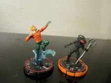 DC HEROCLIX AQUAMAN BLACK MANTA LOT~