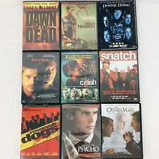 New listing Horror & Suspense Movie Dvd Lot of 9 Reservoir Dogs Crash American Psycho