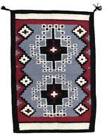 """Vintage Native American Handwoven Antique Ganado Navajo Rug, Handmade, 43""""x29.5"""""""