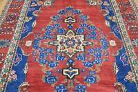 7'2 x 10'2 Top Quality High KPSI Marvelous Colors Hand Knotted Wool Area Rug