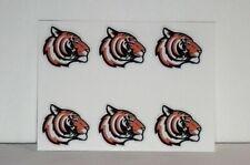 "(6) Princeton Tigers - mascot 1.25"" Diy sticker decal shot glass cell phone"