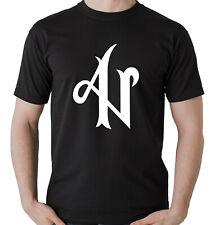 Camiseta Adexe Nau regeton grupo musica t-shirt negro manga corta chicos  chicas