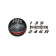 MUGEN CARBON GEAR SHIFT KNOB RED M10 X 1.5 FOR HONDA
