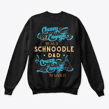 Classy Schnoodle Dad Tee Hanes Unisex Crewneck Sweatshirt