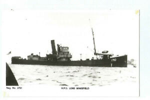 Foto Königreich Uni Schiff Marine De Guerre Schiff Hms Lord Wakefield