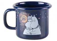 Moomin Enamel Mug Winter Romance 1,5 dl *NEW