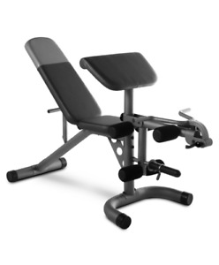 Weider XRS20 Olympic Workout Bench with Removable Preacher Pad and Leg Developer