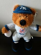 "New York Yankees Baseball Bear Plush Stuffed Animal 12"" Tall Good Stuff Soft"