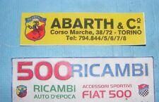 FIAT 500 F/L/R ADESIVO ABARTH PER LUNOTTO POSTERIORE TIPO ORIGINALE SU 595 695