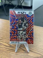 2019-20 Panini Mosaic Mosaic MVPs Blue Reactive #296 James Harden ROCKETS