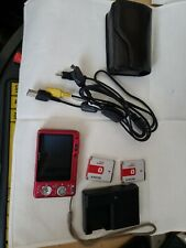 Sony Cyber shot Camera Red Pink DSC W150 8.1 Accessories & 2 Batteries Great!!!