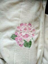 "Vintage Christian Dior Bath Towel. 55"" x 36"" inches."