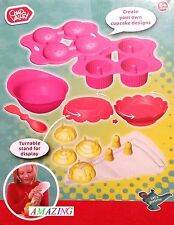 CUPCAKE BAKING SET WITH TURNTABLE STAND FOR DISPLAY - CHAD VALLEY - BRAND NEW
