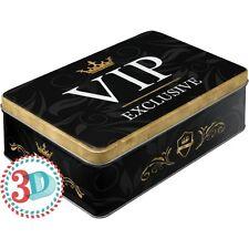 Scatola in Latta richiudibile contenitore VIP Exclusive
