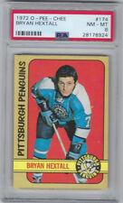 1972-73 OPC Bryan Hextall Pittsburgh Penguins #174 PSA NM-MT 8