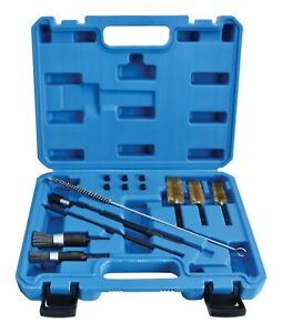 14pc Diesel Injector Seat & Port Cleaning Tool Set - Universal Decarbonising
