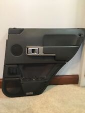 03-06 RANGE ROVER L322 RIGHT REAR DOOR PANEL CARD Charcoal