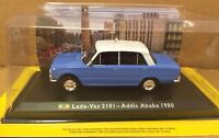 """DIE CAST """" LADA-VAZ 2101 - ADDIS ABABA 1980 """" 1/43 TAXI COLLECTION SCALA 1/43"""