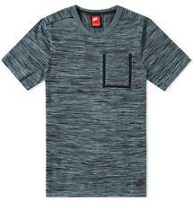 Nike Tech Bolsillo De Punto Para Hombres Camiseta 'Negro hasta & Cannon' (L) 729397 013