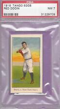 PSA 7 NM TANGO EGGS RED DOOIN 1916 BASEBALL CARD PHILLIES T206 SUBJECT GRADED NM