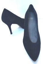 Stuart Weitzman Black Suede Pumps Spike Stiletto High Heeled Shoes 9M