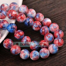 10mm Round Colorful Czech Crystal Glass Loose Spacer Beads Wholesale Lot Styles