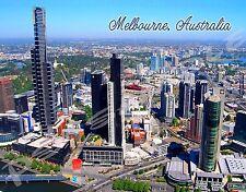 Australia - MELBOURNE - Travel Souvenir Flexible Fridge Magnet