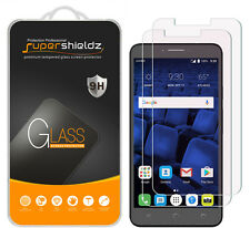 2x Supershieldz Tempered Glass Screen Protector For Alcatel Pixi Theatre 4G LTE