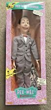 """Pee-Wee's Playhouse 1989 26"""" Ventriloquist Pee-Wee Herman Doll By Matchbox New"""