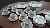 Rare Find Royal Doulton Tonkin T.C.1107 Fine China Dinnerware Set Service for 10