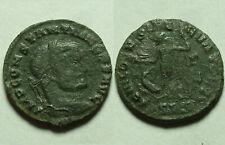 Rare Genuine Ancient Roman coin Constantine 311 AD Jupiter, Victory Eagle wreath