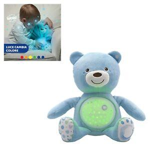 gioco giocattolo CHICCO peluche orso orsetto proiettore Baby Bear per bambino