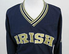 Champion Team Issue Notre Dame Fighting Irish Pullover Windbreaker Jacket Large