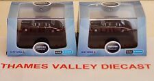 OXFORD DIECAST, NDS003 & NDS006 DAIMLER DS420 LIMO, BLACK/GREY & BLACK, N GAUGE