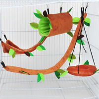 Small Pet Cage Guinea Pig Sugar Glider Hamster Squirrel Swing Bed Nest Hammock