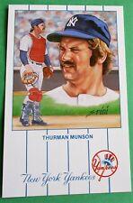 Thurman Munson New York Yankees (From Original Artwork) New Postcard Card #7