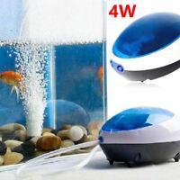 Aquarium Poisson oxygène POMPE À AIR Silencieux efficace puissante