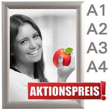 DIN A1 A2 A3 A4 KLAPPRAHMEN Wechselrahmen Plakatrahmen Werberahmen 25mm Profil