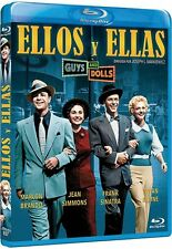 GUYS AND DOLLS (1955) **Blu Ray B** Marlon Brando, Jean Simmons, Frank Sinatra