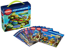 Step into Reading Phonics Power Teenage Mutant Ninja Turtles 12 Paperb.Box Set
