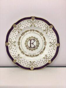 Royal Crown Derby Coronation Surrey Plate