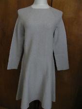 Armani Exchange Women's Gray Burgundy  Merino Wool Dress Size XLarge NWT