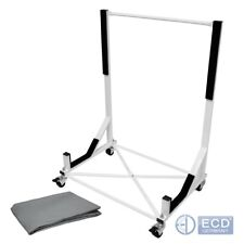 Mercedes Convertible roof hardtop stand trolley white cart carrier stand +cover