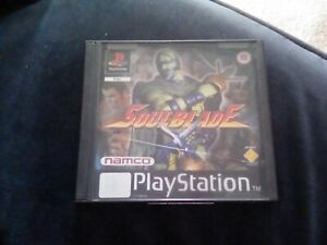 PS1 - SOULBLADE PAL UK BOXED GAME